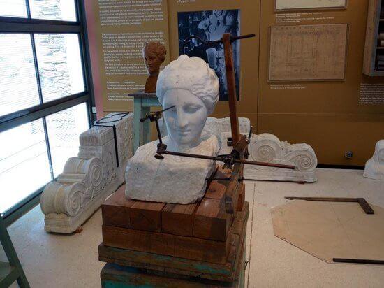 El Museo de Μármol en Tinos
