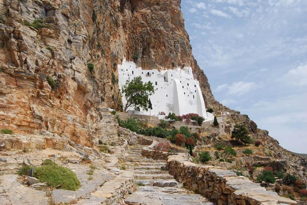 Μonasterio de Hozoviotissa | Monasterios del Egeo - Islas del Egeo