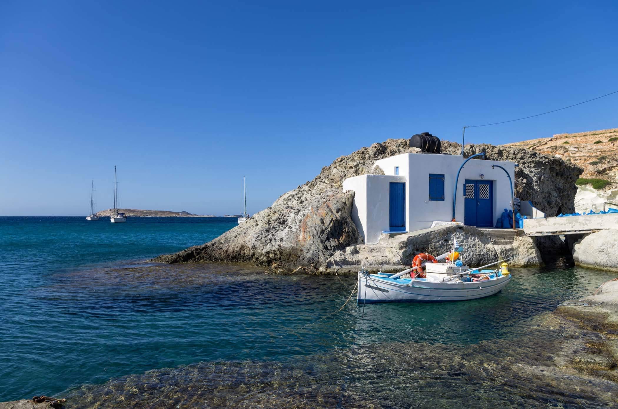 K molos islas del egeo grecia for Casetta lemnos